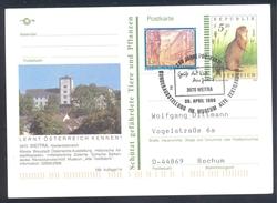 Austria 1999 Postal Stationery Card WEITRA Architecture Church Kirche; Fauna Squirrel Eichhörnchen Textil Museum - Nager