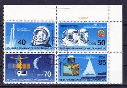 Duitsland DDR 1986 Nr 262/31 G,in Blok Van 4 St, Zeer Mooi Lot Krt 3333 - Sammlungen (ohne Album)