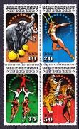 Duitsland DDR 1985 Nr 2606/09 G,in Blok Van 4 St, Zeer Mooi Lot Krt 3334 - Sammlungen (ohne Album)