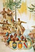 """Militaria WW2   - Photo Affiche """"Leclerc Et La 2° DB Libèrent Strasbourg Le 23.11.44"""" - 1939-45"""