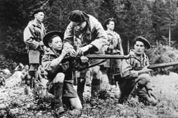 Militaria WW2  - Instruction Des Résistants Dans Le Vercors - 1939-45