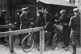 Militaria WW2 -  Ligne De Démarcation à Moulins - 1939-45