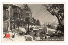 14435-LE-SUISSE-Canton De Vaud-Leysin-Rue Du Commerce Et Hôtel Richemont----------animée - VD Vaud