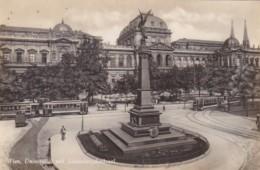 Austria Wien Vienna Universitaet mit Liebenbergdenkmal Real Phot