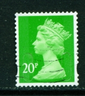 GREAT BRITAIN  -  2009+  Machin  Security Slits  20p  Used As Scan - 1952-.... (Elizabeth II)