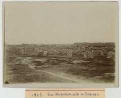 (Bretagne) Les Alignements à Carnac. 1908. - Lieux
