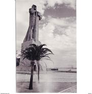 HLVTP7229CPA-LFTD10249TBES.Tarjeta Postal DE HUELVA,ARTE.Escultura Y MONUMENTO A COLON En LA PUNTA DEL SEBO En  HUELVA - Esculturas