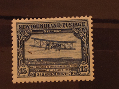 Newfoundland 1930 15c Vickers Aircraft  SG 186 Sc 170 MLH - 1908-1947