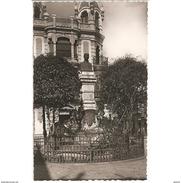 HLVTP7294CPA-LFTD6734TBES.Tarjeta Postal DE HUELVA,politico.ARTE Escultura,monumento A ANTONIO MORA CLAROS En  HUELVA - Esculturas