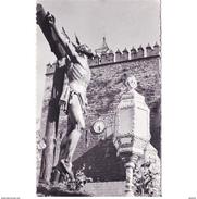 JNTP7819CPA-LFTD8730TBES.Tarjeta Postal De JAEN.ARTE Religioso,Escultura Y PROCESION De CRUCIFICADO,SEMANA SANTA,BAZA - Esculturas