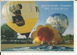 10x15 Metz  Mongolfiades   Aout 1993    Pub Biere Fisher - Metz