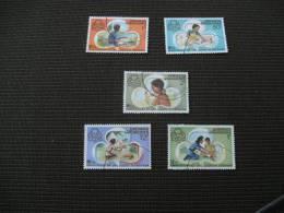 BG1078- Set  Used Grenada 50th. Anniv. Of Girl Guides - Scouting