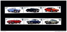 GREAT BRITAIN - 2013  BRITISH AUTO LEGENDS  SET  MINT NH - 1952-.... (Elisabetta II)