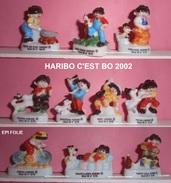 FEVES  HARIBO C'EST BO 2002p50 EPI FOLIE SERIE COMPLETE NEUVE - Dessins Animés