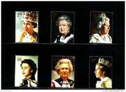 GREAT BRITAIN - 2013  ROYAL PORTRAITS  SET  MINT NH - 1952-.... (Elisabetta II)