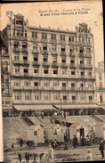 CPA BLANKENBERGE (DATE ILLISIBLE) - GRAND HOTEL PAUWELS D'HONDT - - Blankenberge