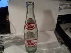 PULP. VIEILLE BOUTEILLE DE SODA. 296 ML. PARAGUAY. VERRE MOULE. - Soda
