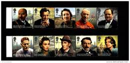 GREAT BRITAIN - 2013  GREAT BRITONS  SET  MINT NH - 1952-.... (Elisabetta II)