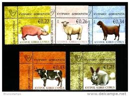 CYPRUS - 2010  FARM ANIMALS  SET MINT NH - Chypre (République)