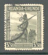 Ruanda Urundi 1942 - Michel Nr. 93 A ** - 1924-44: Gebraucht