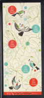 Finland MNH 2011 Booklet Pane Of 5 Spring Of Life: Birds, Flowers - Finlande