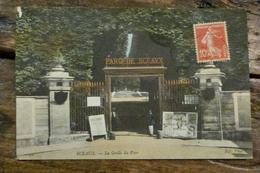 92, SCEAUX, LA GRILLE DU PARC, 1909 - Sceaux