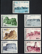 Albania 1976 _ Castles & Fortresses - Full Set MNH** - Albania