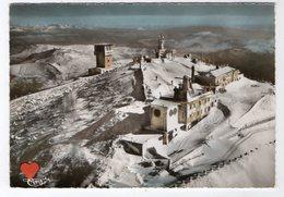 39029-ZE-84-MONT-VENTOUX,alt. 1912 M-La Tour Relai De Télévision-Les Inst Météo.Au Fond,la Chaîne Des Alpes-Vue Aérienne - Zonder Classificatie