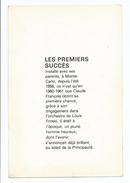 Claude François Divers Aspects De Sa Vie - Les Premiers Succès Bain - Image Et Texte Illustré - Andere