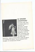 Claude François Divers Aspects De Sa Vie - Tournée Le Grand Chapiteau Pelouse De Reuilly - Image Et Texte Illustré - Andere