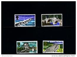 GREAT BRITAIN - 1968  BRIDGES  SET  MINT NH - 1952-.... (Elisabetta II)
