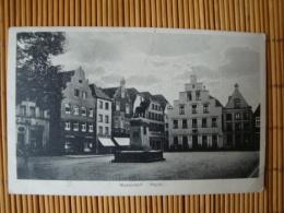 Warendorf, Markt, Gelaufen 1928 - Warendorf