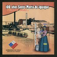 """CHILE ESTAMPILLAS 2007; """"100 AÑOS DE SANTA MARIA DE IQUIQUE"""". - Cile"""