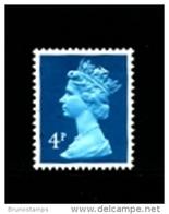GREAT BRITAIN - 1981  MACHIN  4p. PCP  PERF. 15x14 MINT NH  SG X1002 - Machins