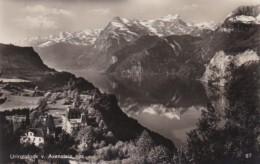 Switzerland Urirotstock Vom Axenstein 1932 Photo - UR Uri