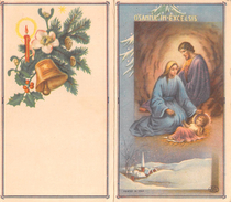 "05605 ""CALENDARIO 1956 - OSANNA IN EXCELSIS"" ORIGINALE. - Calendari"