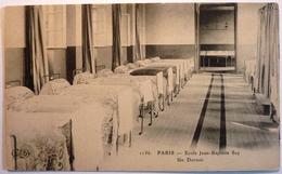 ECOLE JEAN BAPTISTE SAY - UN DORTOIR - PARIS - Education, Schools And Universities