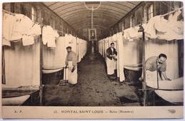 HOPITAL SAINT LOUIS - BAINS HOMMES - PARIS - Health, Hospitals