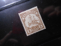 D.R.7   3Pf** Deutsche Kolonien (Karolinen) 1900  Mi € 2,50 - Colony: Caroline Islands