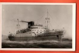 IAU-11  Compagnie Paquet Le AZROU Construit En 1949, Vitesse 15 Noeuds. Edit. Audry., Non Circulé - Dampfer