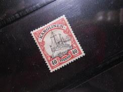 D.R.13   40Pf*   Deutsche Kolonien (Karolinen) 1900/10  Mi € 1,70 - Colony: Caroline Islands