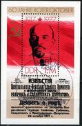 DDR - Mi Block 50 = 2261 - OO Gestempelt (B) - 1M          Oktoberrevolution - Oblitérés