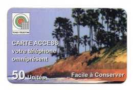 CARTE PREPAYEE TOGO  *50 Unités - Togo