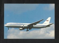 Russian International Airline Airplane Picture Postcard - Hubschrauber