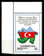 Azerbaijan 1994 Aserbaidschan Mi 69 Independence / Unabhängigkeit **/MNH - Azerbaïdjan
