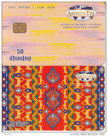 ARMENIA(chip) - Carpets 2/Zangezur, CN : 0061, Used - Armenia