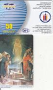 ARMENIA - 1700 Years Christianity In Armenia 1, ArmenTel/OTE 50 Units, Tirage 40000, 03/01, Sample(no Chip, No CN)