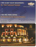 ARMENIA - Hotel Yerevan, ArmenTel Telecard 50 Units, Exp.date 31/12/06, Tirage 5000, Sample(no Chip, No CN) - Armenia