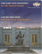 ARMENIA - Aram Khachatryan, ArmenTel Telecard 50 Units, Tirage 20000, Exp.date 31/12/06, Sample(no Chip, No CN)