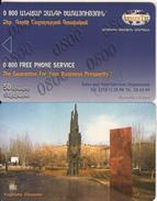 ARMENIA - Yeghishe Charents, ArmenTel Telecard 50 Units, Tirage 20000, Exp.date 31/12/06, Sample(no Chip, No CN)